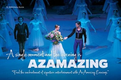AzAmazing Evenings Digital Signage (Europe)
